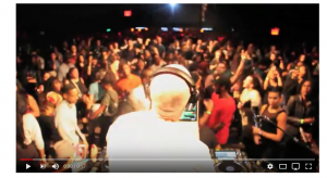 Herbert Holler, back in the DJ booth, doing what he was born to do!