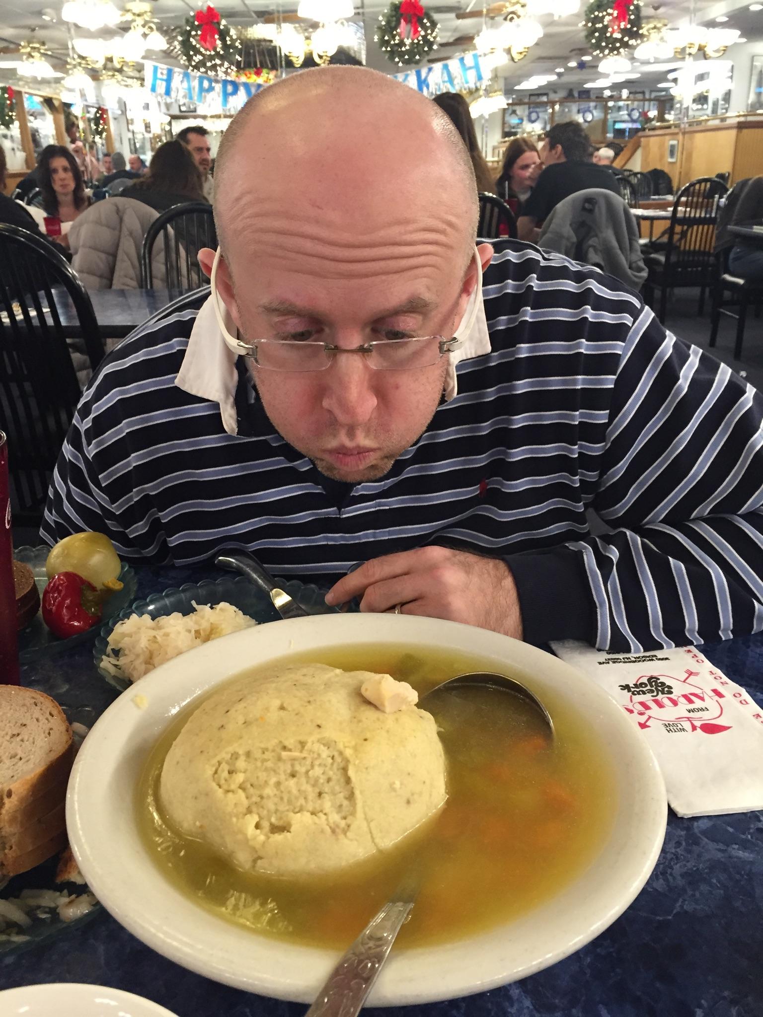 DJ Herbert Holler and the mighty matzah ball soup
