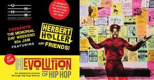 The Universal Hip Hop Museum Memorial Day Weekend 80s Jam with DJ Herbert Holler and Friends!